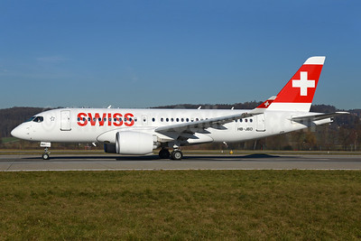 Swiss International Air Lines Airbus A220-100 (Bombardier CS100 - BD-500-1A10) HB-JBD (msn 50013) ZRH (Rolf Wallner). Image: 936039.