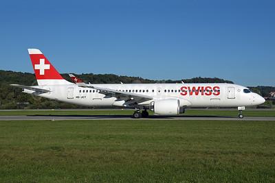 Swiss International Air Lines Airbus A220-300 (Bombardier CS300 - BD-500-1A11) HB-JCT (msn 55046) ZRH (Rolf Wallner). Image: 955572.