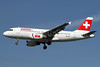 Swiss International Air Lines Airbus A319-112 HB-IPS (msn 734) LHR (SPA). Image: 929552.