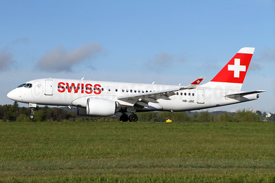 Swiss International Air Lines Airbus A220-100 (Bombardier CS100 - BD-500-1A10) HB-JBE (msn 50014) ZRH (Andi Hiltl). Image: 937687.