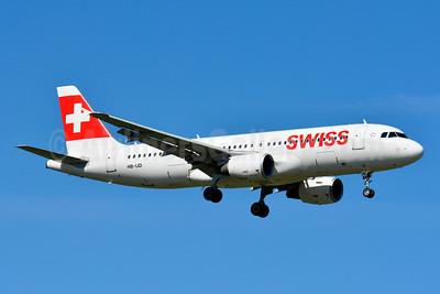 Swiss International Air Lines Airbus A320-214 HB-IJD (msn 553) ZRH (Paul Bannwarth). Image: 929106.