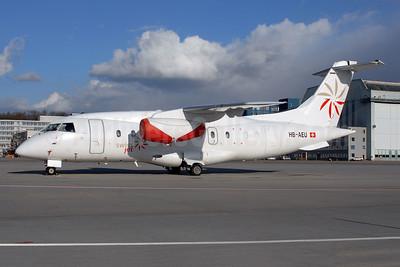 Swiss Jet (Air Engiadina) Dornier 328-300 (328JET) HB-AEU (msn 3199) ZRH (Rolf Wallner). Image: 902502.