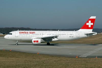 Swiss Sun Airbus A320-214 HB-IJW (msn 2134) GVA (Ton Jochems). Image: 954084.