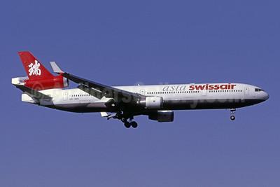 Swissair Asia McDonnell Douglas MD-11 HB-IWN (msn 48539) MIA (Bruce Drum). Image: 104152.