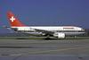 Swissair Airbus A310-322 HB-IPI (msn 410) ZRH (Rolf Wallner). Image: 913260.