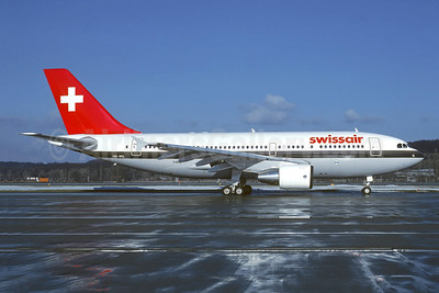 Swissair Airbus A310-322 HB-IPG (msn 404) ZRH (Christian Volpati Collection). Image: 950260.