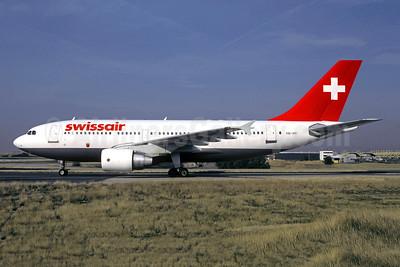 Swissair Airbus A310-322 HB-IPF (msn 399) CDG (Christian Volpati). Image: 950261.