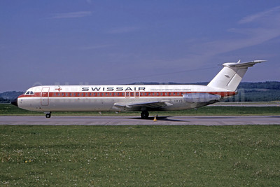 Swissair - British United Airways BAC 1-11 501EX G-AWYS (msn 175) ZRH (Bruce Drum Collection). Image: 946692.