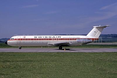 Swissair - British United Airways BAC 1-11 501EX G-AWYS (msn 175) ZRH (Bruce Drum Collection). Image: 946692.