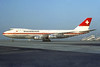 Swissair Boeing 747-257B HB-IGB (msn 20117) ZRH (Christian Volpati Collection). Image: 939592.