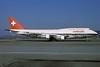 Swissair Boeing 747-357 N221GF (msn 22996) ZRH (Rolf Wallner). Image: 913208.