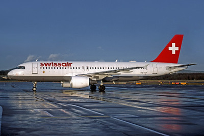 Swissair Airbus A320-214 HB-IJF (msn 562) ZRH (Rob Rindt Collection). Image: 954269.
