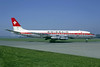 Swissair Douglas DC-8-32 HB-IDA (msn 45416) ZRH (Michel Klein Collection). Image: 906972.