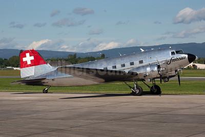 Swissair (Verein DC-3) Douglas C-47A-DL (DC-3) N431HM (msn 9995) WIE (Rainer Bexten). Image: 946705.