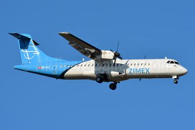 Zimex Aviation (Switzerland) ATR 72-202 (F) HB-ALL (msn 411) BSL (Paul Bannwarth). Image: 945386.