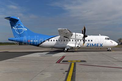 Zimex Aviation (Switzerland) ATR 42-500 HB-ALN (msn 528) BSL (Ton Jochems). Image: 946564.