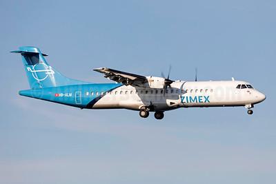 Zimex Aviation (Switzerland) ATR 72-202 (F) HB-ALM (msn 396) ARN (Stefan Sjogren). Image: 953980.