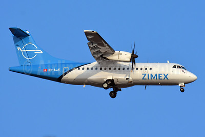 Zimex Aviation ATR 42-500 HB-ALN (msn 528) BSL (Paul Bannwarth). Image: 945387.