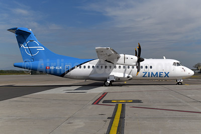 Zimex Aviation ATR 42-500 HB-ALN (msn 528) BSL (Ton Jochems). Image: 946564.