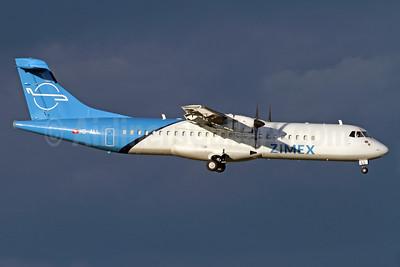 Zimex Aviation ATR 72-202 (F) HB-ALL (msn 411) ZRH (Andi Hiltl). Image: 935056.