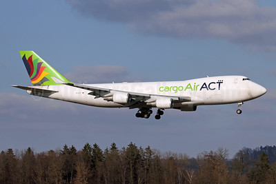 ACT Airlines (Air ACT cargo) Boeing 747-428F ER TC-ACR (msn 32866) ZRH (Andi Hiltl). Image: 953005.