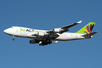 ACT Airlines (Air ACT cargo) Boeing 747-428F ER TC-ACR (msn 32866) JFK (Fred Freketic). Image: 951899.