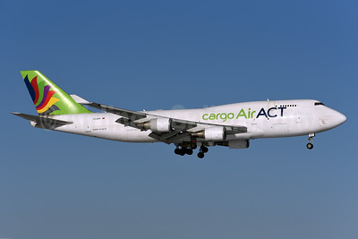 ACT Airlines (Air ACT cargo) Boeing 747-481 (F) TC-ACF (msn 25645) ZRH (Rolf Wallner). Image: 952775.