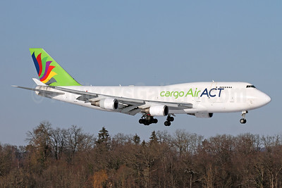 ACT Airlines (Air ACT cargo) Boeing 747-481 (F) TC-ACF (msn 25645) ZRH (Andi Hiltl). Image: 952782.