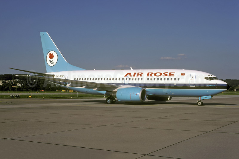 """Berkcan"", leased from Maersk Air on July 2, 1999"