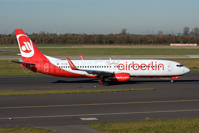 Airberlin Turkey Boeing 737-86J WL TC-IZB (msn 37743) DUS (Michael Stappen). Image: 907416.