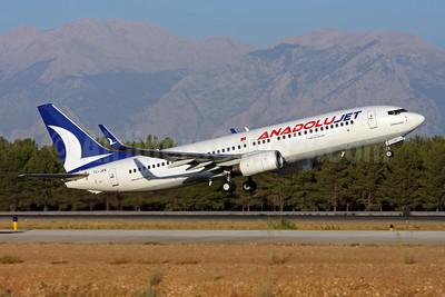 AnadoluJet (Turkish Airlines) Boeing 737-8F2 WL TC-JFK (msn 29773) AYT (Andi Hiltl). Image: 906475.