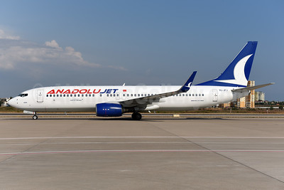 AnadoluJet (Turkish Airlines) Boeing 737-8F2 WL TC-JFJ (msn 29772) AYT (Ton Jochems). Image: 939885.