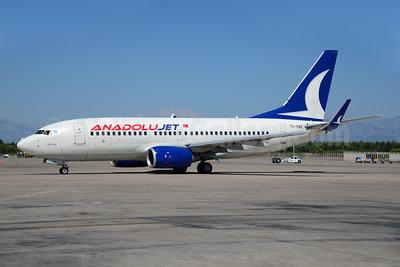 AnadoluJet (Turkish Airlines) Boeing 737-76N WL TC-SAE (msn 34757) AYT (Ton Jochems). Image: 920168.