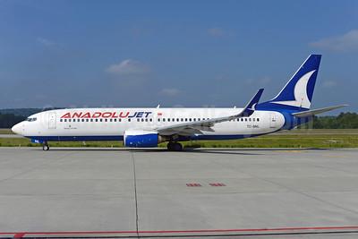 AnadoluJet (Turkish Airlines) (SunExpress) Boeing 737-86N WL TC-SNL (msn 34251) (SunExpress underside) ZRH (Rolf Wallner). Image:  922992.