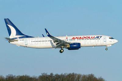 AnadoluJet (Turkish Airlines) Boeing 737-8FH WL TC-SAH (msn 35092) ARN (Stefan Sjogren). Image: 911544.