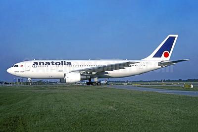 Anatolia (Air Anatolia) Airbus A300B4-2C TC-ONV (msn 057) MUC (Christian Volpati Collection). Image: 949290.