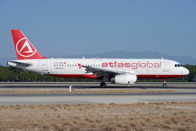 AtlasGlobal Airlines (Turkey) Airbus A320-232 TC-ATM (msn 2753) (Atlasjet colors) AYT (Ton Jochems). Image: 929736.