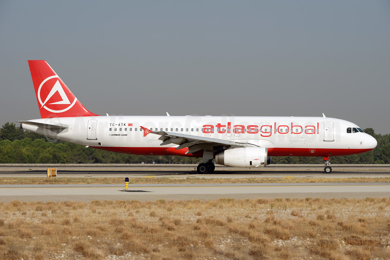 AtlasGlobal Airlines (Turkey) Airbus A320-232 TC-ATK (msn 2747) (Atlasjet colors) AYT (Ton Jochems). Image: 929735.