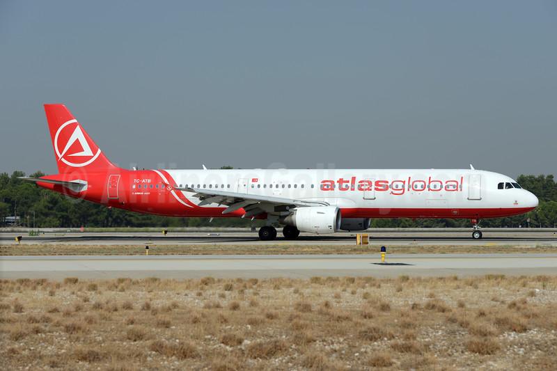 AtlasGlobal Airlines (Turkey) Airbus A321-211 TC-ATB (msn 1503) AYT (Ton Jochems). Image: 929737.