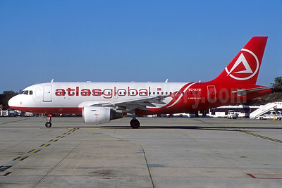 AtlasGlobal Airlines (Turkey) Airbus A319-112 TC-ATD (msn 1124) CDG (Jacques Guillem Collection). Image: 938491.