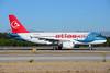 Atlasjet Airlines Airbus A319-112 TC-ATD (msn 1124) (Royal Falcon colors) AYT (Ton Jochems). Image: 913700.