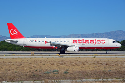 Atlasjet Airlines Airbus A321-231 TC-ATH (msn 1953) AYT (Ton Jochems). Image: 913704.
