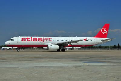 Atlasjet Airlines Airbus A321-231 TC-ETH (msn 968) AYT (Ton Jochems). Image: 903672.