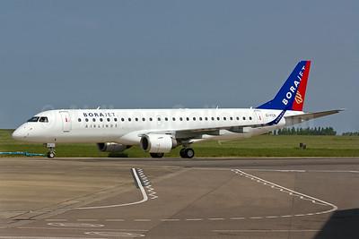 Borajet's first Embraer 190