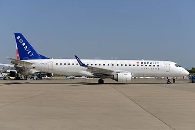Borajet Airlines Embraer ERJ 190-100LR TC-YAK (msn 19000310) AYT (Ton Jochems). Image: 934510.