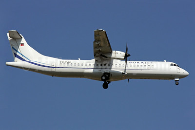 Borajet Airlines ATR 72-212A (ATR 72-500) TC-YAD (msn 702) AYT (Antony J. Best). Image: 923963.