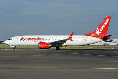 Corendon Airlines Boeing 737-8 MAX 8 TC-MKS (msn 64936) AMS (Ton Jochems). Image: 943150.