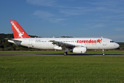 Corendon Airlines (Global Aviation) Airbus A320-231 ZS-GAR (msn 053) ZRH (Rolf Wallner). Image: 947274.