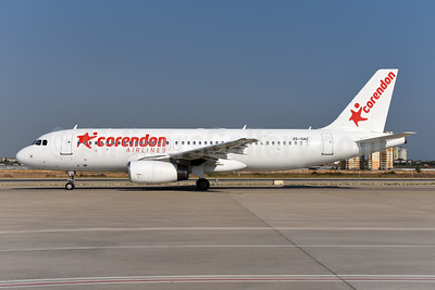 Corendon Airlines (Global Aviation) Airbus A320-231 ZS-GAZ (msn 081) AYT (Ton Jochems). Image: 945145.