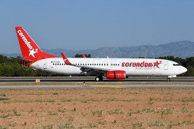 Corendon Airlines Boeing 737-86J WL TC-COE (msn 36881) AYT (Ton Jochems). Image: 948247.